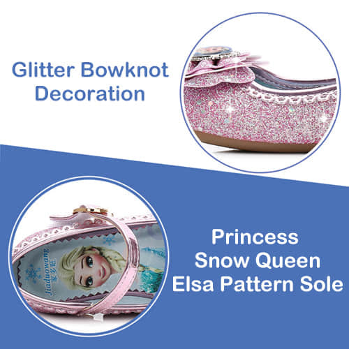 Soft Breathable Comfortable Inner Elsa Pattern Sole