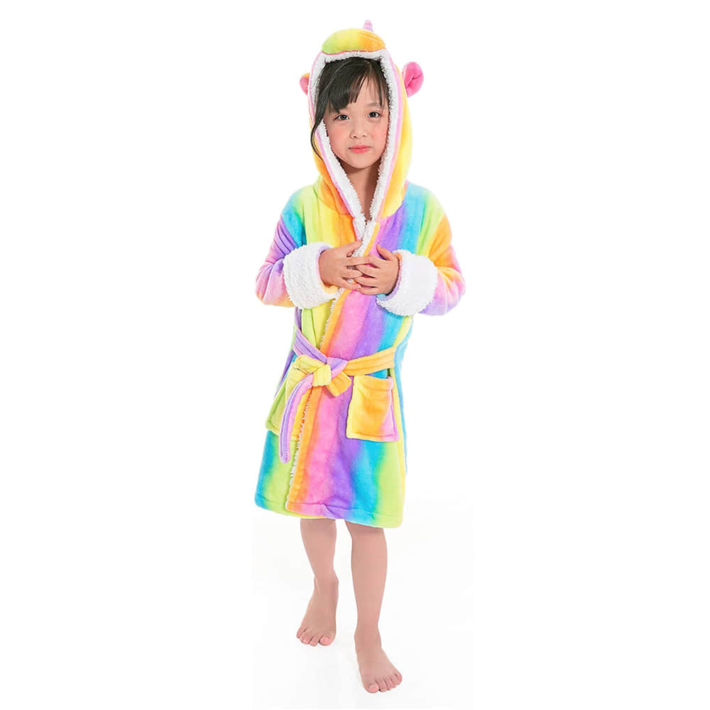 Vivid Cute Animal Cosplay Costume Robes for Kids
