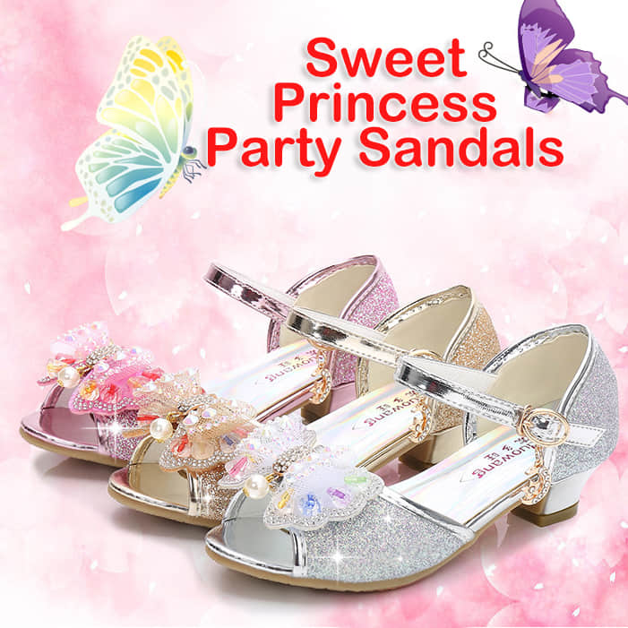 Bowknot Glitter on the Surface of the Shoes Make Them Elegant