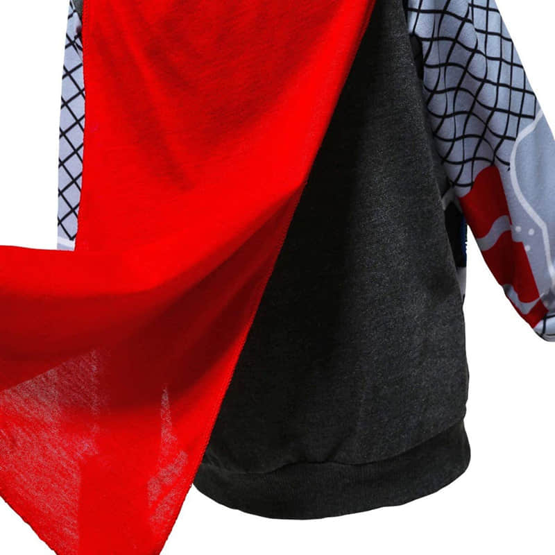 Long Sleeve and a Red Cape Design