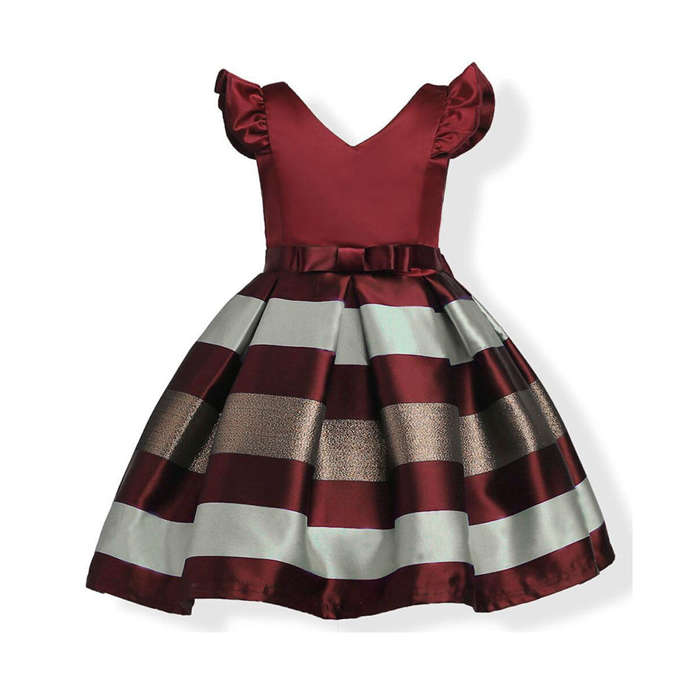 tutu_dresses_for_girls_burgundy_with_bow