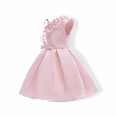 Elegant Party Outfit Flower Girl Dresses Light Pink 8 Pink
