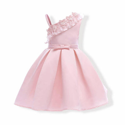 Elegant Party Outfit Flower Girl Dresses Light Pink 6 Pink