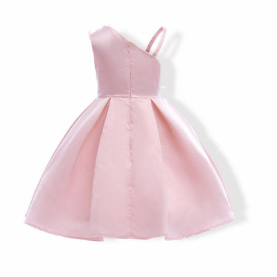 Elegant Party Outfit Flower Girl Dresses Light Pink 7 Pink