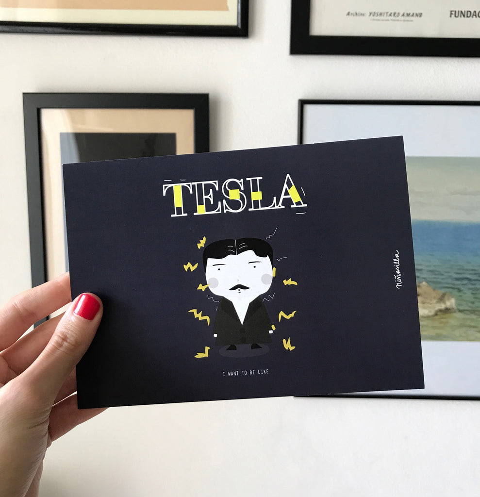 Little Postcards -- Little Tesla