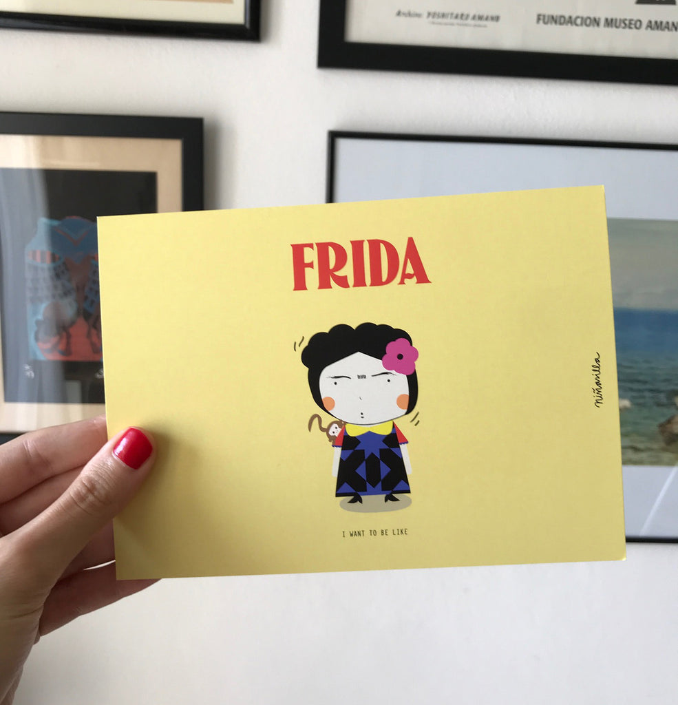 Little Postcards -- Little Frida