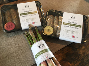 Asparagus Sausages - Colcombe House