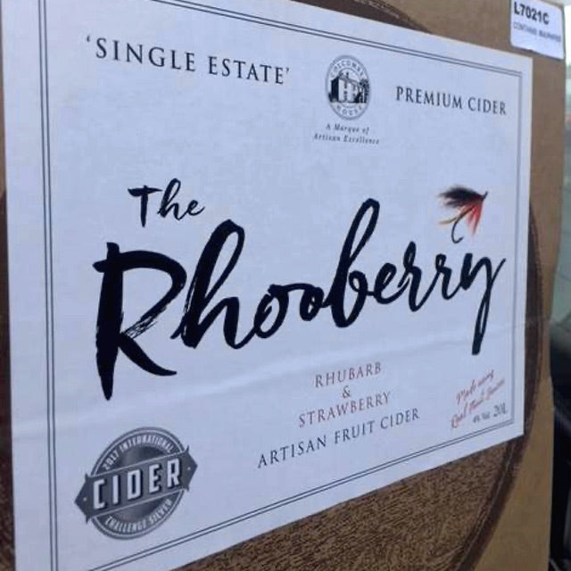 Rhooberry 20 Litre Boxed Cider - Colcombe House