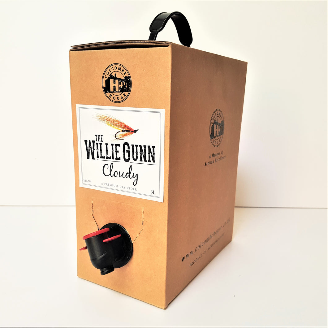 The Willie Gunn Cloudy 3L Boxed Cider - Colcombe House