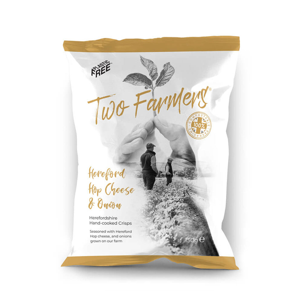 Hereford Hop Cheese & Onion: Two Farmers Crisps - Colcombe House