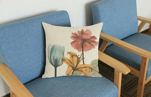 Flowing Flower Cushion Cover