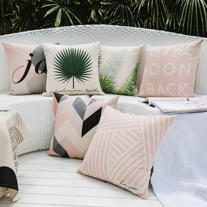Pink Platinum Pillow Covers