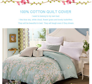 Relaxing Flower Bed Duvet