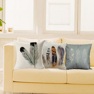 Harmony Feather Pillow Case