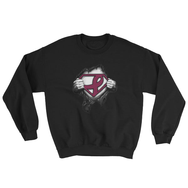 Superman---Support multiple myeloma cancer Sweatshirt