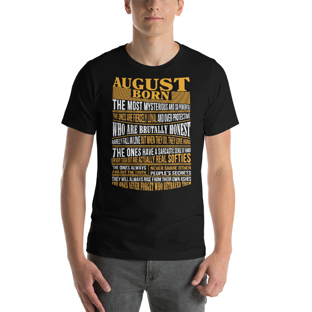 Born in August true facts for mens, womens