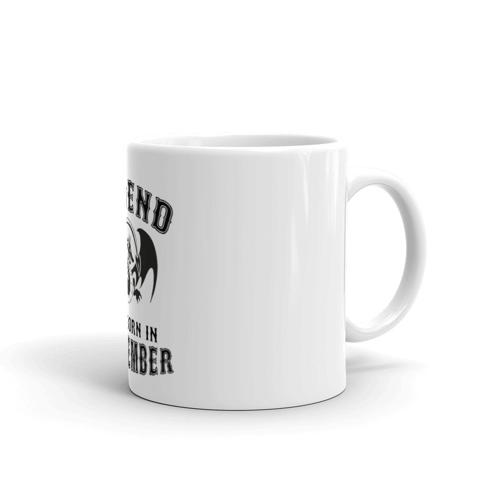 Legends are born in september Mug