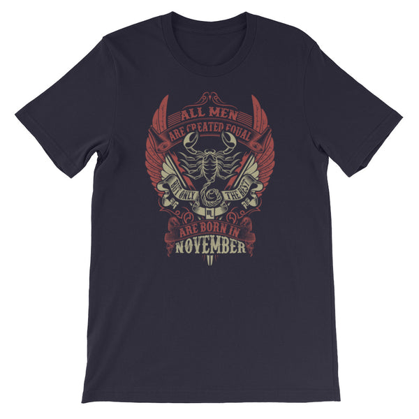 Born Scorpio Short-Sleeve Unisex T-Shirt