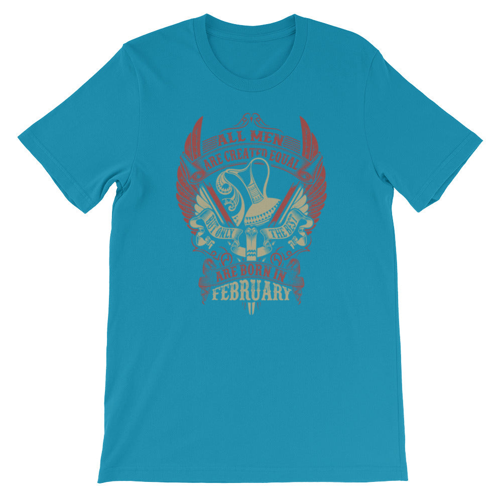 Born Aquarius Short-Sleeve Unisex T-Shirt