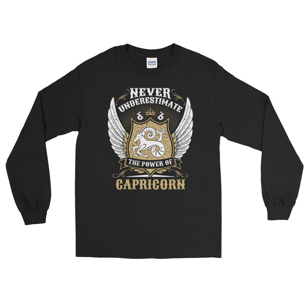 Capricorn power Long Sleeve T-Shirt