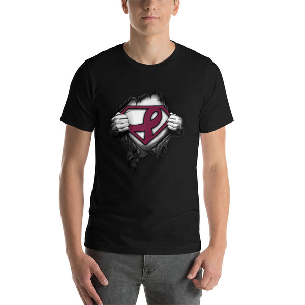 Superman---Support multiple myeloma cancer Short-Sleeve Unisex T-Shirt