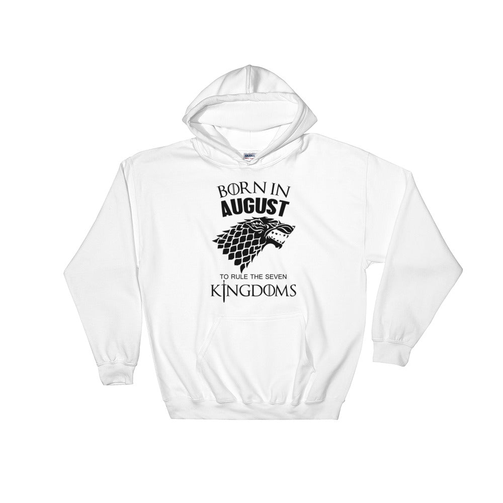 Born August Hooded Sweatshirt