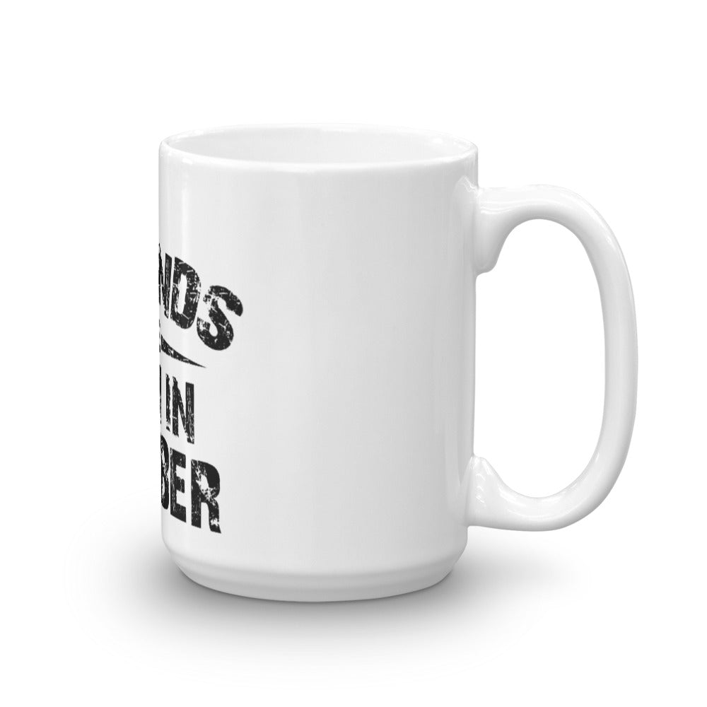 Legends are born in born october Mug