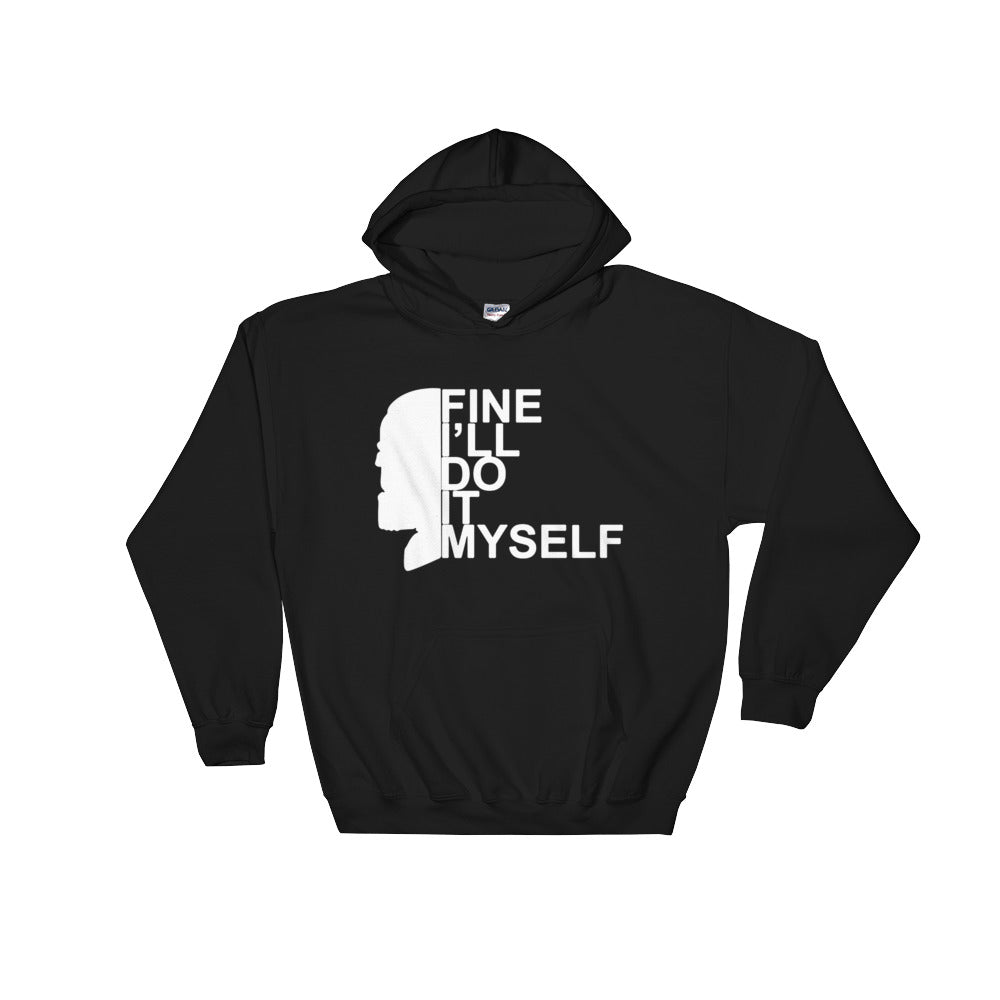Spectacular The Thanos face fine Ill do it myself Pullover Hoodie 8 oz Hooded Sweatshirt