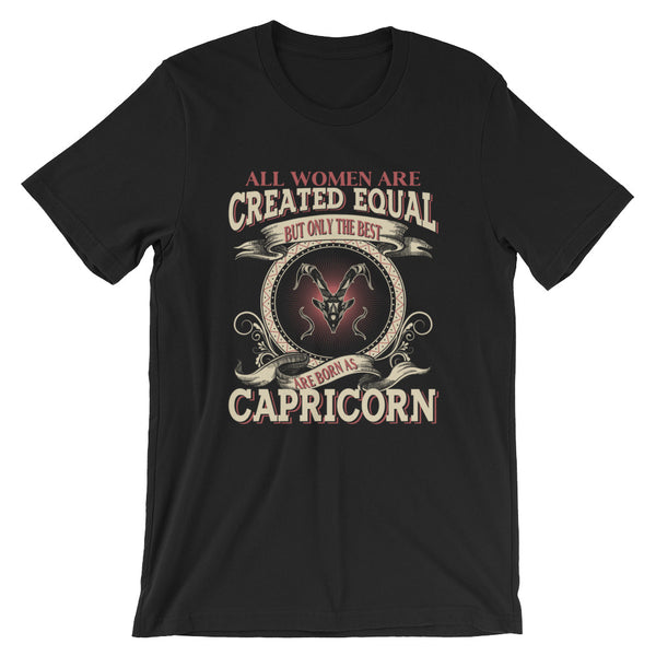 Women born Capricorn Short-Sleeve Unisex T-Shirt