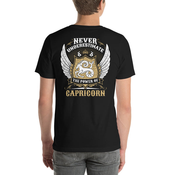 Capricorn power Short-Sleeve Unisex T-Shirt