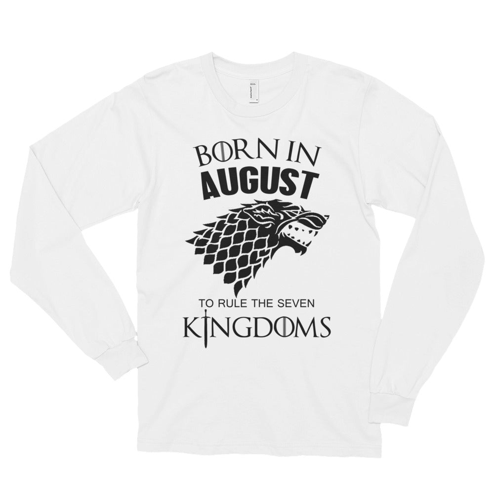Born august Long sleeve t-shirt (unisex)