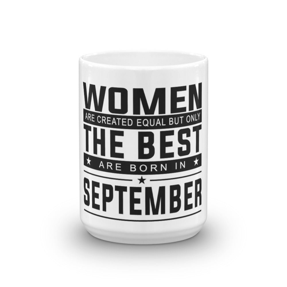 September Women Mug made in the USA