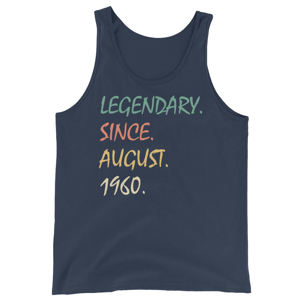 Legendary since August 1960 Unisex  Tank Top