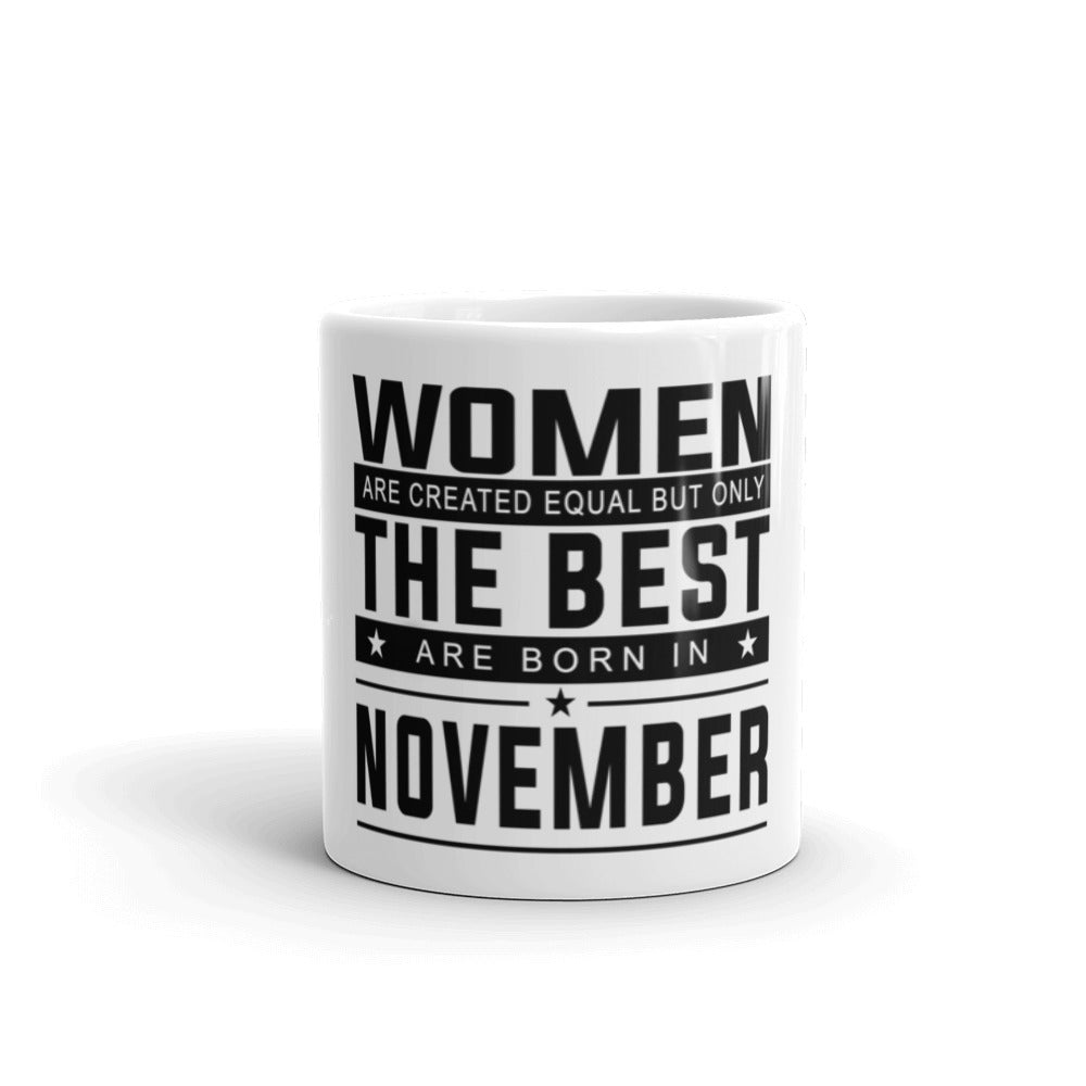 November Women Mug made in the USA