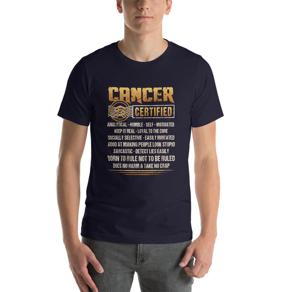 Cancer proud Short-Sleeve Unisex T-Shirt