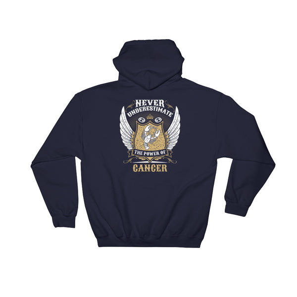 Cancer power Hooded Sweatshirt