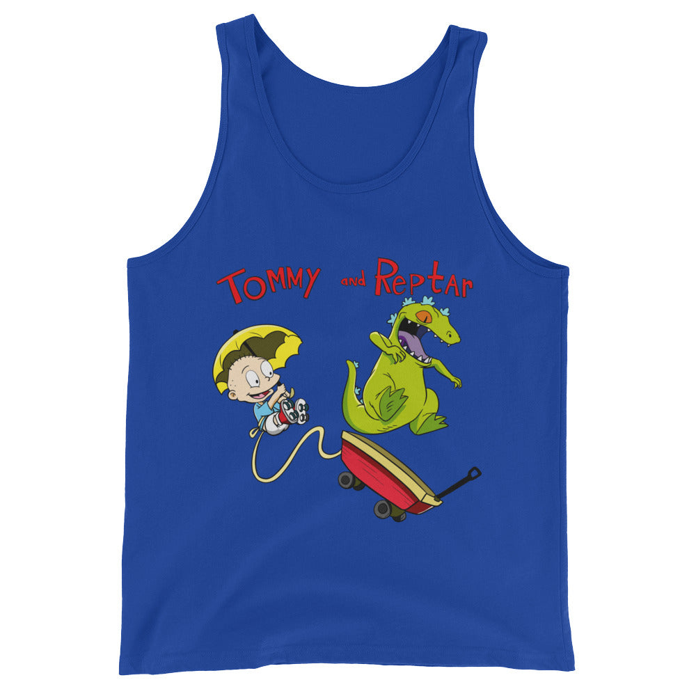 Tommy and Reptar Mens Premium Unisex  Tank Top