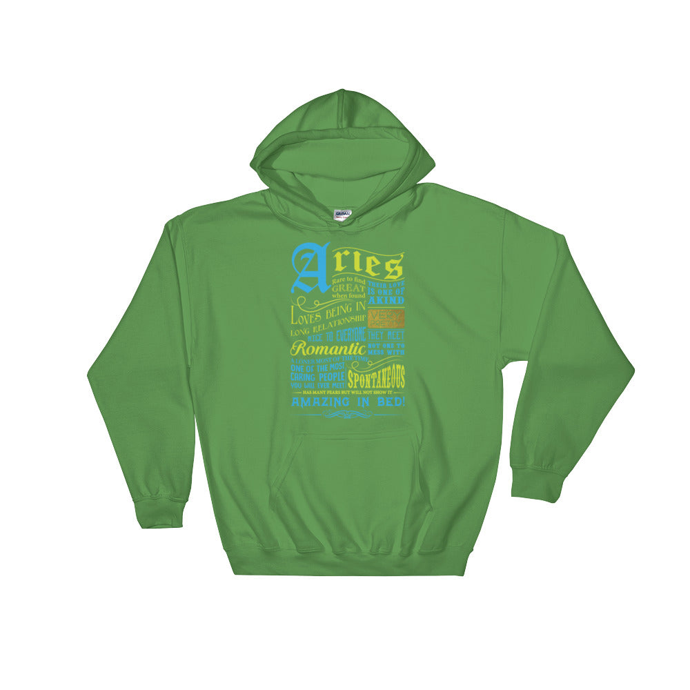Aries born facts Hooded Sweatshirt