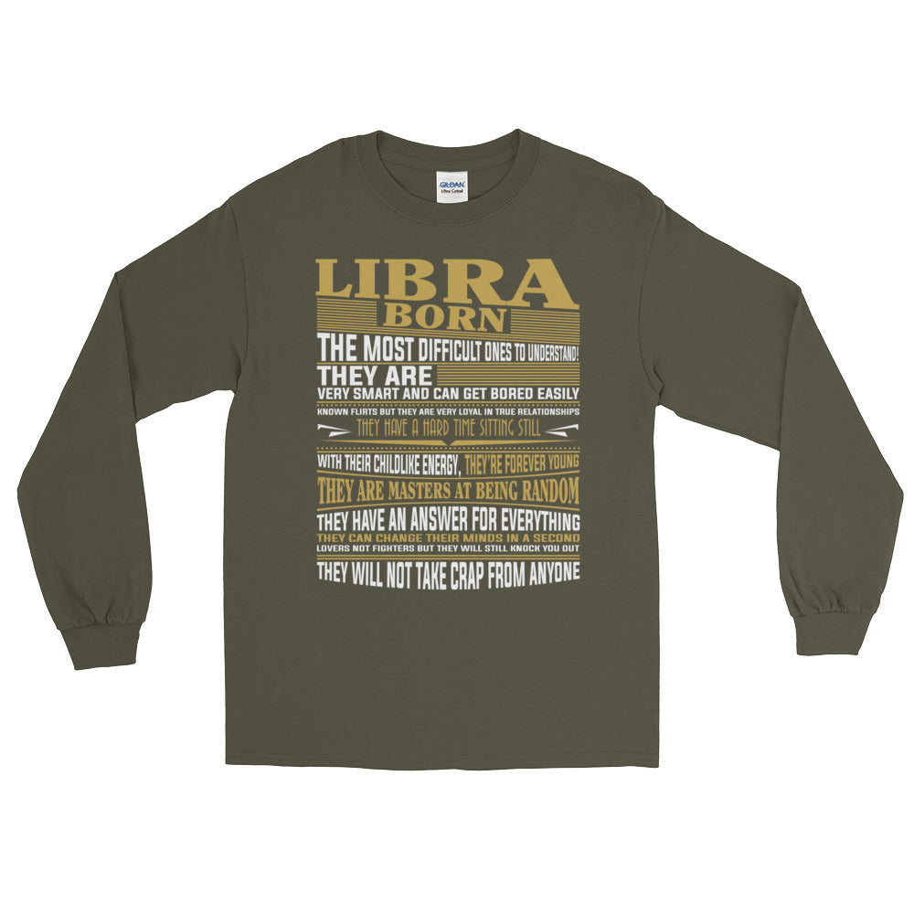 Born Libra facts Long Sleeve T-Shirt