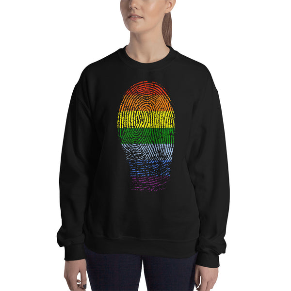 LGBT National Equality March Pride Fingerprint Sweatshirt