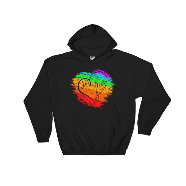 LGBT National Equality March Pride Love Is Love Hooded Sweatshirt