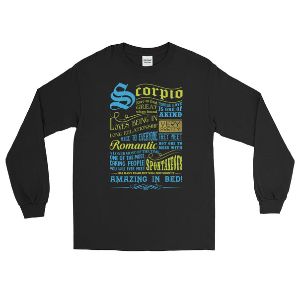 Scorpio born proud Long Sleeve T-Shirt