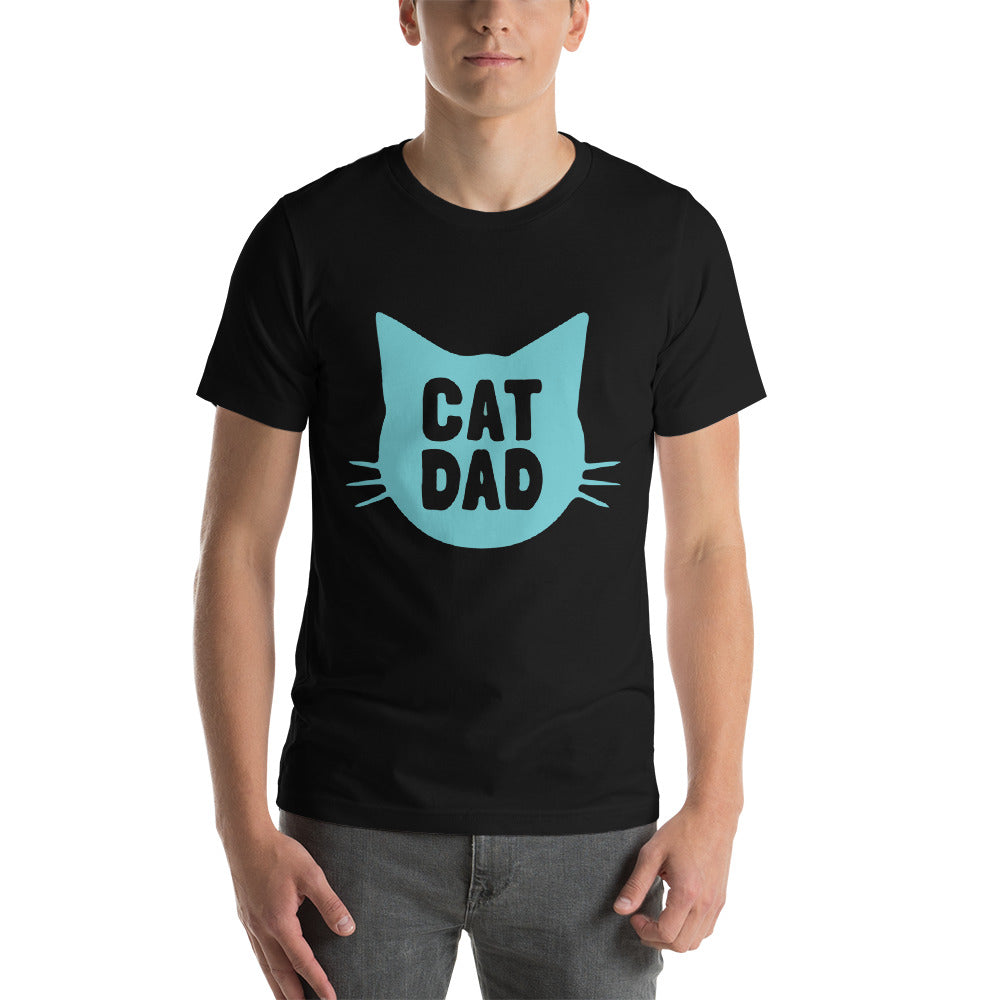 Cat Dad Custom Ultra Cotton Short-Sleeve Unisex T-Shirt