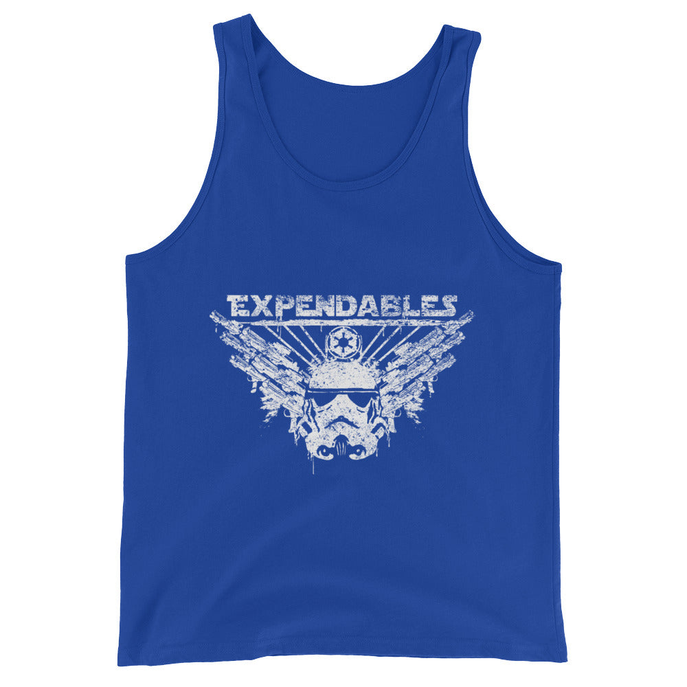 Expendable Troopers Mens Premium T Shirt Unisex  Tank Top