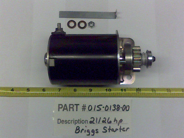 Bad Boy OEM 015-0138-00 21hp Briggs Starter 593934