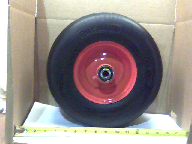 Bad Boy OEM 022-3070-00 No-Flat 13 x 6.50-6 Orange Wheel