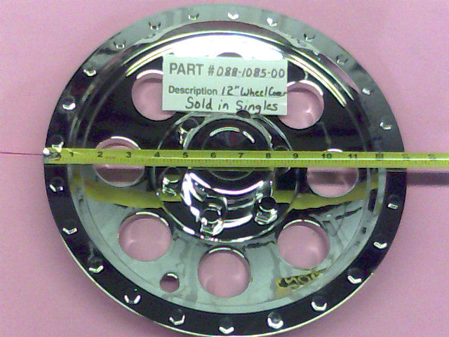 Bad Boy OEM 088-1085-00 12 Inch Wheel Cover (Single)