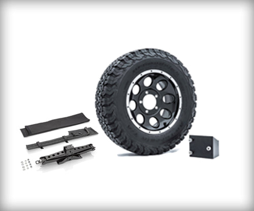 Mahindra Roxor OEM Spare Tire Kit with Mount, Jack & Lock