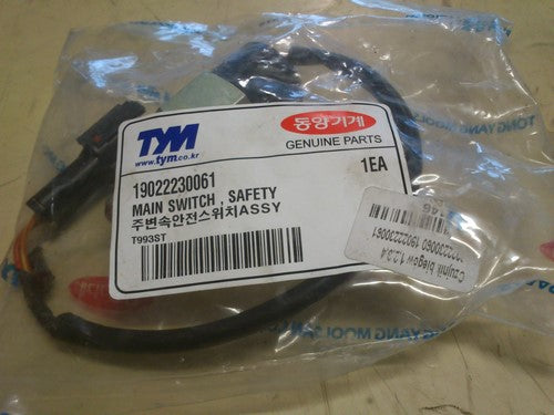 TYM 19022230061 Main Switch, Safety