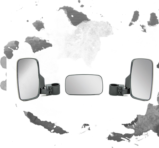Mahindra Roxor OEM 0109BUA00041N Side & Rearview Mirror Package (3Pcs)